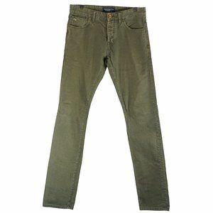 Scotch and Soda green chemistry jeans EUC 30X34